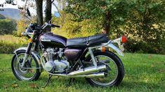 Cool Great 1972 Honda CB  1972 Honda CB500 in Boss Maroon Metallic 2018