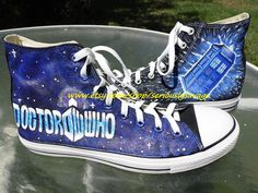 Dr. Who Time Traveling Tardis Doctor Who Custom by seriouslysavage, $89.00