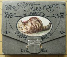 Beatrix Potter 1st edition 1st issue. concertina style Miss Moppet 1906.