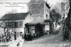 Le Cabaret du Lapin Agile (Paris-Montmartre. 1890).  At the turn of the twentieth century, the Lapin Agile was a favorite spot for struggling artists and writers, including Picasso, Modigliani, Apollinaire, and Utrillo.
