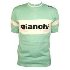 ITALIAN CYCLING JOURNAL: Bianchi Vintage Wool Jersey: Limited Number for U.S.