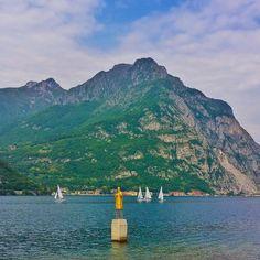 St. Nicholas, the patron saint of sailors on Lake Como near Lecco, Italy.