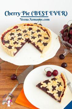 Best Cherry Pie Recipe, Cherry Recipes, Fruit Recipes, Pie Recipes, Mini Cherry Pies, Homemade Cherry Pies, Homemade Pie, Dessert For Two, Deserts