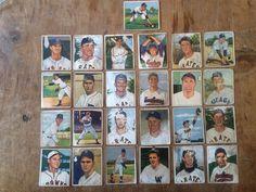 1950 Bowman Baseball Lot (25) Low # SP Minor Stars Off-Grade and Cheap