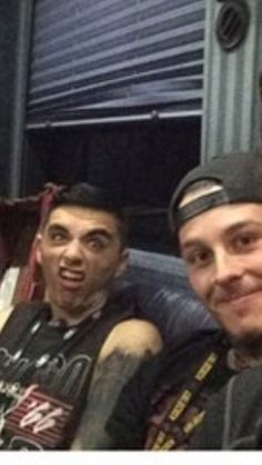 Motionless in whites drummer vinny and Ryan