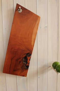 Reclaimed Wood Cutting and Serving Board CHERRY by VintageLumber