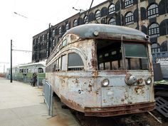 Abandoned Trolley Street Cars, Red Hook, Brooklyn, New York City by jag9889, via Flickr