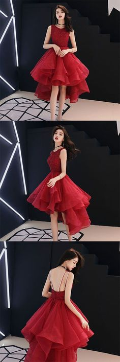 Prom Dresses Beautiful, Cute A line round neck tulle short prom dress, homecoming dress, Looking for the perfect prom dress to shine on your big night? Prom Dresses 2020 collection offers a variety of stunning, stylish ball. Long Prom Gowns, Pink Prom Dresses, Plus Size Prom Dresses, Short Prom, Cheap Prom Dresses, Homecoming Dresses, Evening Dresses, Short Dresses, Pretty Dresses