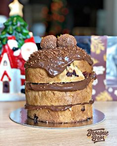 Chocolate Lovers, Christmas Desserts, Sweet Recipes, Bakery, Food And Drink, Xmas, Sweets, Cookies, Fruit