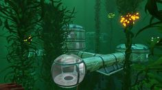 Player-Made Subnautica Base Is Extremely Impressive Subnautica Base, Subnautica Creatures, Minions, Base Building, Underwater City, City Aesthetic, Single Player, Shadowrun, Deep Sea