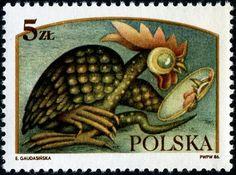 Children's story series Poland 1986 art by Elzbieta Gaudasinska