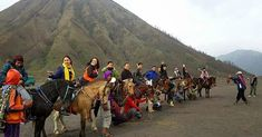Enchantment of Mount Bromo Tourism Destinations in East Java Sacred Mountain, Active Volcano, Sea Level, Deities, Java, 21st Century, Enchanted, Tourism, National Parks