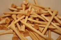 25 Bamboo Golf Tees - Detailed item view - FUPA Golf