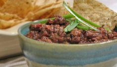 Black Bean And Hot Pepper Dip