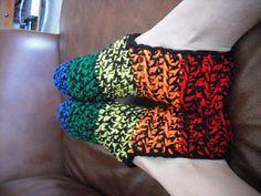 Crochet Slippers: free pattern, thanks so xox