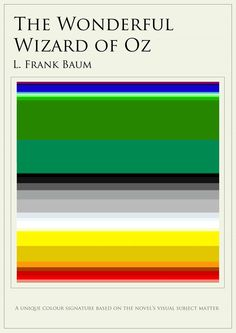 Colour Signatures - The Wonderful Wizard of Oz