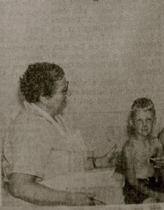 County health nurse, Ms Zachy...used to put the fear in us with all those hyperdermic needles...slj