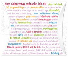 Zum Geburtstag wünsche ich dir - Himbeer-Bonbons - Grafik Werkstatt Bielefeld