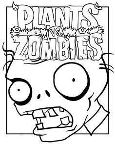 Unique Plants Vs Zombies Coloring Pages 75 plants vs zombies coloring