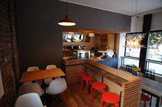 Bar / Restaurant Interior Kiosk, Store Fronts, Restaurant Bar, Interior Inspiration, Design Ideas, Platform, Concept, Interiors, Interior Design