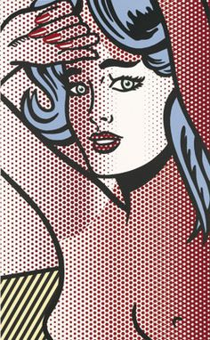 Pop Art- an art movement started in the 1950s that contradicted fine art using pop culture, comics, and advertising.