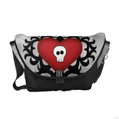 ==>>Big Save on          Super cute gothic damask skull heart black and red messenger bags           Super cute gothic damask skull heart black and red messenger bags in each seller & make purchase online for cheap. Choose the best price and best promotion as you thing Secure Checkout you can ...Cleck Hot Deals >>> http://www.zazzle.com/super_cute_gothic_damask_skull_heart_black_and_red_messenger_bag-210985774911040499?rf=238627982471231924&zbar=1&tc=terrest