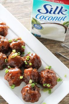 Vegan Sweet and Sour Meatballs - thestayathomechef.com