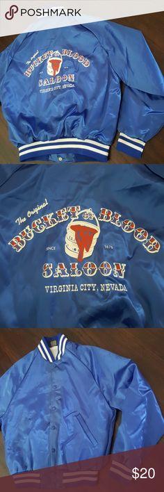 8c2aa67d828748 Vintage Bucket Of Blood Saloon Jacket