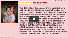 Paradise Galleries Baby Doll Review | Realistic Baby Dolls
