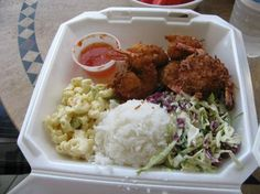 Kinaole Grill Food truck, coconut shrimp