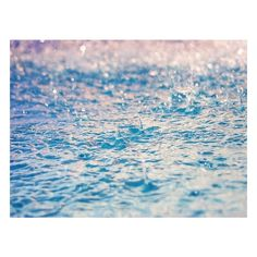 Rain Drops ❤ liked on Polyvore featuring backgrounds and blue