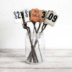 vintage cash register price flags