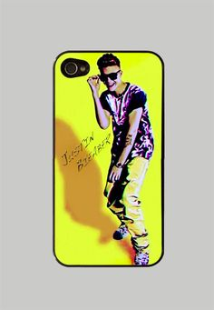 Justin Bieber iPhone 4 / 4S Case iPhone 5 by StyleCase on Etsy, $10.99