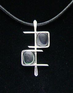 Rare Victorian English Sea Glass Necklace