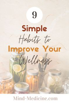 Don't know where to start with wellness? Try these top 9 simple wellness habits to change your life, transform your daily routine and make you the active participant in improving and enhancing your wellness. Mental, physical, and emotional health are so important and can easily be improved by using these 9 simple and effective habits to level up your wellness today Healthy Lifestyle Habits, Healthy Habits, Health And Nutrition, Health And Wellness, Women's Mental Health, Healthy Mind And Body, Positive Living, Kids Health, Wellness Tips