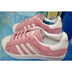 Womens Adidas Originals SuperStar Suede Pink White Shoes Adidas Shoes cbc36253a