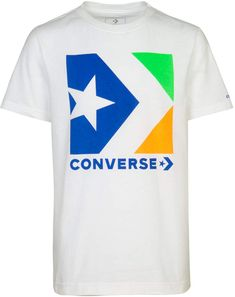 Converse Big Boys Chevron Star Logo Graphic Cotton T-Shirt