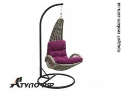 Подвесное ротанговое кресло Tempio серое Garden4You Hanging Chair, Furniture, Home Decor, Hammock Chair, Decoration Home, Room Decor, Home Furnishings, Arredamento, Interior Decorating