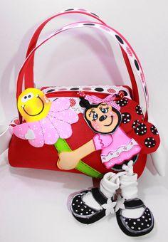 MARY LADYBUG  Little Girl Purse by SweetBellaLuna on Etsy, $10.50