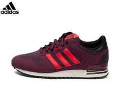 new concept 479ee 248ea ZX Shoes Sale Online · MensWomens Adidas Originals ZX 700 Shoes Burgundy  Maroon Red White M18251,Adidas-
