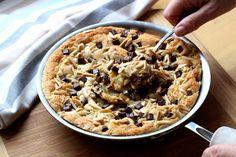 Comment faire un cookie géant à la poêle (one pan cookie) - Diaporama 750 grammes