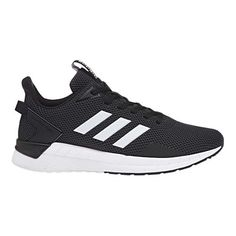 sale retailer 676d6 534d6 Men s adidas Questar Ride Running Shoe - Black White Carbon Sneakers. Zapatillas  De Deporte Negras, Zapatos Negros, Adidas Hombre, Blanco Negro