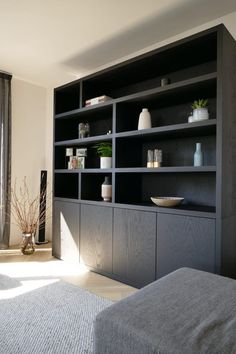 Woonhuis Oudorp | Lifs Home Room Design, Home Living Room, Interior, Home Decor, House Interior, Home Office Design, Home Interior Design, Shelving Units Living Room, Home Decor Furniture