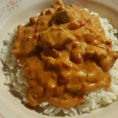 Hungarian chicken paprikash @ http://allrecipes.co.uk