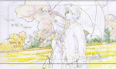 The Wind Rises Studio Ghibli Layout Designs