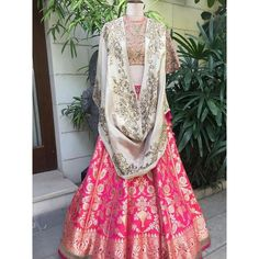 Beautiful sky blue color lehenga and mustard color boat neck blouse with ivory dupatta with hand embroidery gold thread work by Jayanti Reddy . Ethnic Fashion, Urban Fashion, Indian Fashion, Trendy Fashion, Fashion Outfits, Women's Fashion, Indian Attire, Indian Ethnic Wear, Indian Dresses