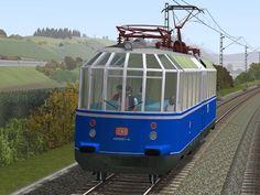 Gläserner Zug DB 491