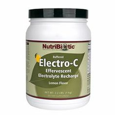 Lemon Electro-C Powder - 2.2 lbs - Powder by Nutribiotic. $39.95. Quantity  2.2 Lbs. Name  Elcetro-C Lemon Flavor. Lemon Electro-C Powder by Nutribiotic 2.2 lbs Powder Electro-C Information NutriBiotic Buffered Electro-C is a fresh and tart sparkling non-caloric vitamin C electrolyte recharge drink providing 950 mg of vitamin C and an array of electrolytes per serving. Because there are no sugars in these products to increase ionic osmotic concentration the minerals ...