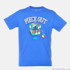 f2167f249cb9 Rubik s Cube Piece Out T-Shirt Vinyl Shirts