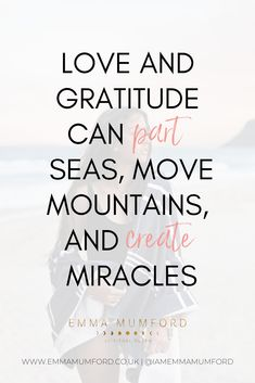 """""""Love and gratitude can part seas, move mountains, and create miracles. Law Of Attraction Coaching, Law Of Attraction Quotes, Top Quotes, Best Quotes, Life Quotes, Rhonda Byrne Quotes, Best Motivational Quotes, Inspirational Quotes, Thankful And Blessed"""